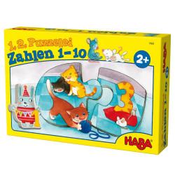 1, 2, Puzzléalos - numeros del 1 al 10