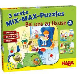 3 Primeros puzzles Mix-Max - En casa