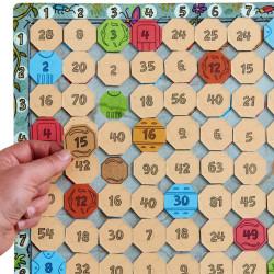La Aventura de las Tablas - Juego de multiplicar para 1-4 jugadores