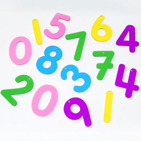Números acrílicos del 0 a 10