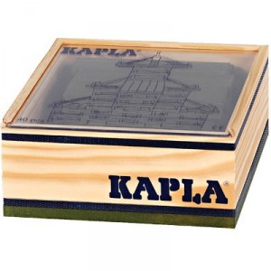 KAPLA color verde - 40 placas de madera
