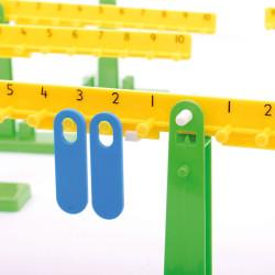 10 Balanzas Matemáticas pequeñas para el aula