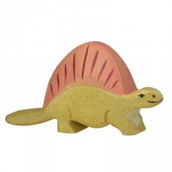 Dimetrodon - dinosaurio de madera