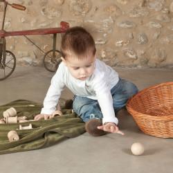 Piezas para la cesta de los tesoros pequeña - 10 pzas.