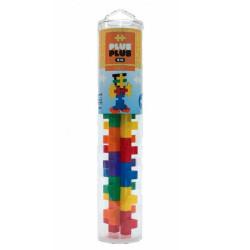 Plus-Plus Tubo Midi Basic 15 piezas colores básicos - juguete de construcción