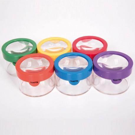Colores De Visor X3 Unidades Arco Iris6 Objetos Con Lupa En R54jALq3