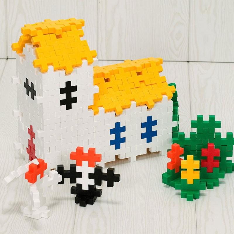 Plus-Plus Tubo Midi Basic 15 piezas colores básicos - juguete de ...