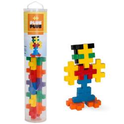 Plus-Plus Tubo BIG Basic 15 piezas colores básicos - juguete de construcción