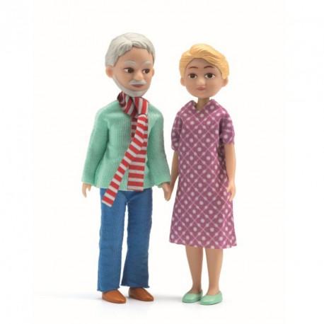 Familia de casas de muñecas Los abuelos