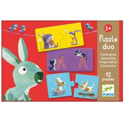 Puzzle duo Contrarios - 24 pzas.