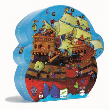 Puzzle del Barco de Barbarroja - 54 pzas.
