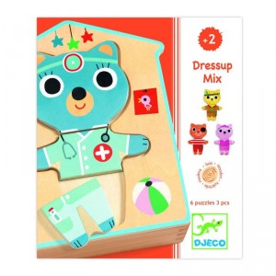 Puzzle Dressup Mix