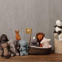 León de peluche mini - Los amigos de Noah