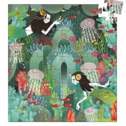 Puzzle Paraíso Acuático - 54 pzas.