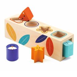Boita Basic - Cubo de formas de madera