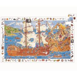 Puzzle observación Los Piratas- 100 pzas.