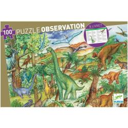 Puzzle observación Dinosaurios - 100 pzas.