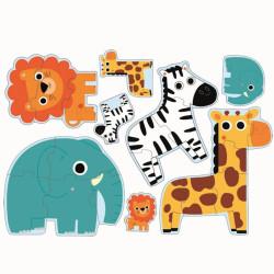 Primo Puzzle- En la selva