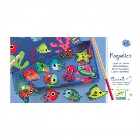 Magnético-Pesca Coloreada