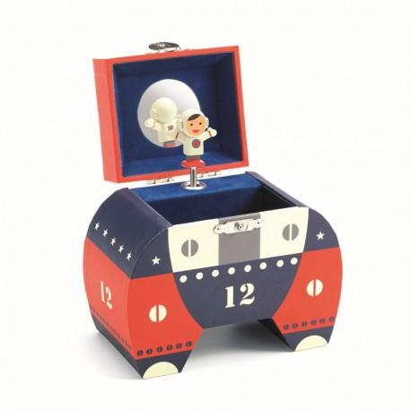 Caixa de Música Cohet Espacial Polo12
