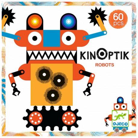 Kinoptik Robots - Imaginativo juego de construcción y animación