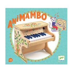 Piano Electrónico Animambo - instrumento de madera