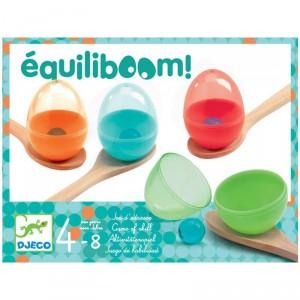 Equiliboom - Juego de habilidad para 2-4 jugadores