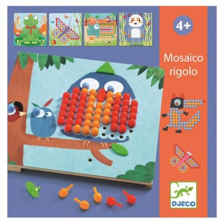 Mosáico Rigolo - colorit joc educatiu