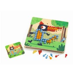 Mosáico Rigolo - colorido juego educativo