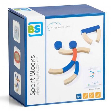 Sport Blocks - 71 peces de fusta