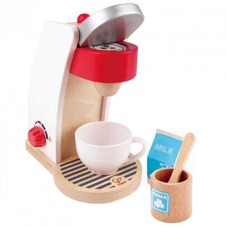 Cafetera de madera para cocinitas