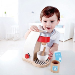 Cafetera de juguete para cocinitas