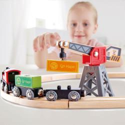 Tren de mercancías HAPE - tren de madera