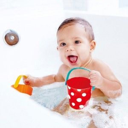 Cubos Alegres - Juguete baño bebé