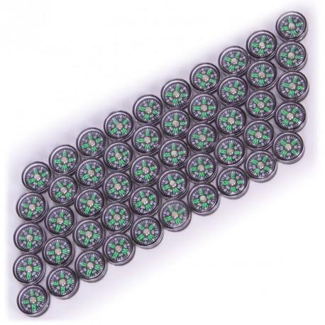 50 Brújulas de 15mm para el aula