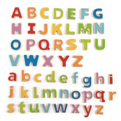 Letras magnéticas ABC