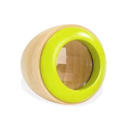 Ojo Espía - Caleidoscopio de madera - VERDE