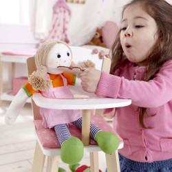 Trona de madera para muñecas