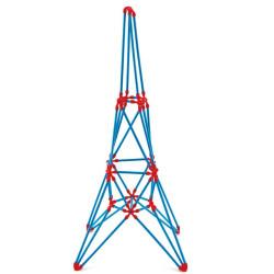 Flexistix Construcción Creativa - Torre Eiffel 62 pzas.