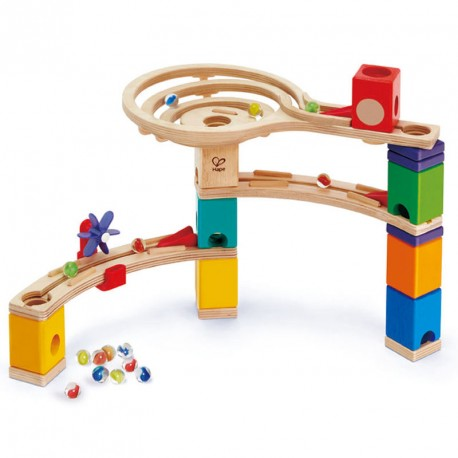 Quadrilla - Construcción de pista de canicas - 28 pzas