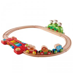 Circuito de tren musical HAPE - monos