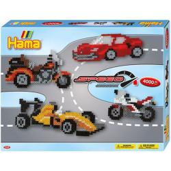 Caja regalo Velocidad - 4000 perlas Hama