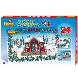 Caja regalo Calendario de Adviento - 5000 perlas Hama