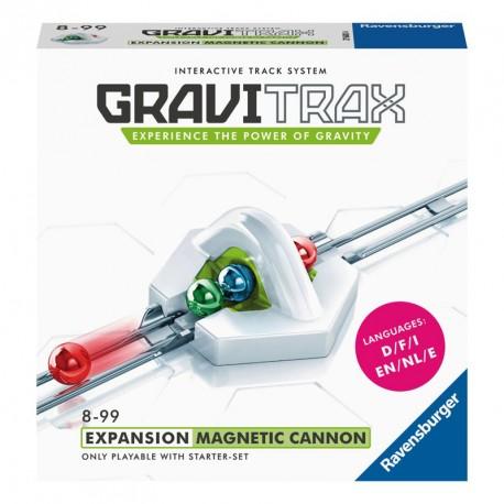 GraviTrax - Expansión Cañón magnético para pista de canicas interactiva