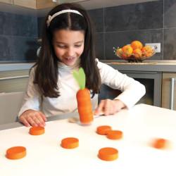 Rebana la zanahoria - juego de habilidad