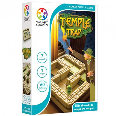 Temple Trap - juego de lógica para 1 jugador