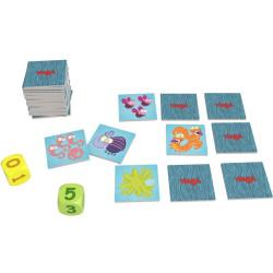 Bichos - inquietante juego de memoria y cálculo mental para 2-4 jugadores