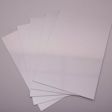5 Miralls de doble cara format DIN A4 de plàstic