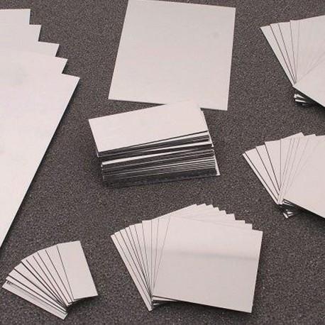 10 Miralls de doble cara format DIN A6 de plàstic