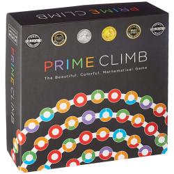 Prime Climb - juego matemático para 2-4 jugadores